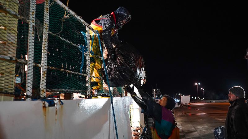 Pescati 400 kg di rifiuti in mare LE FOTO