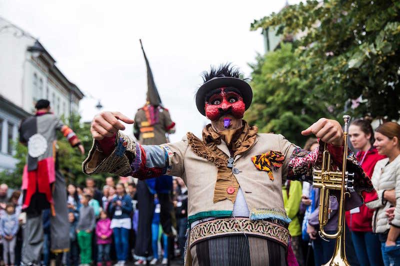 Grande festa di Carnevale in centro