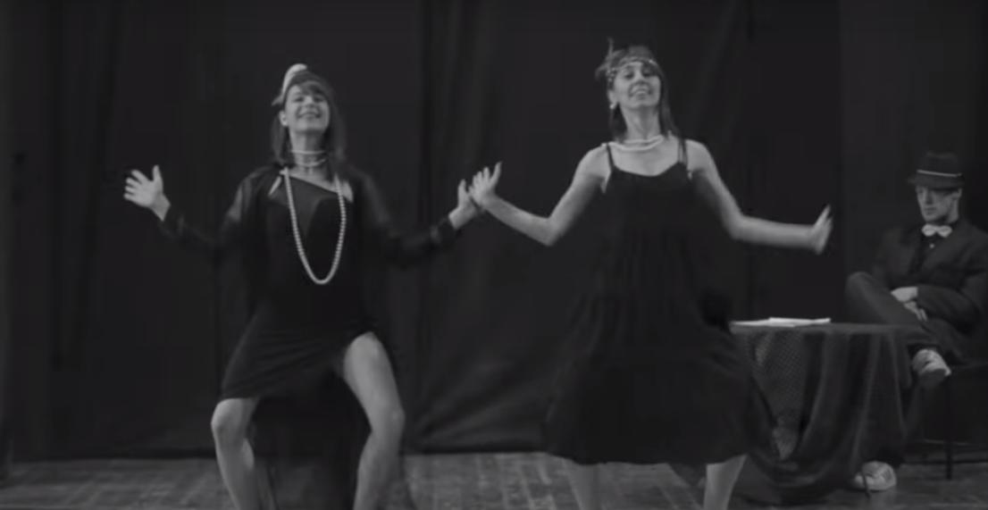A lezione di danza al Foro Annonario