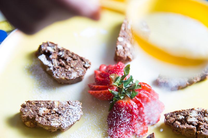 Un dolce della tradizione romagnola: il salame di cioccolato