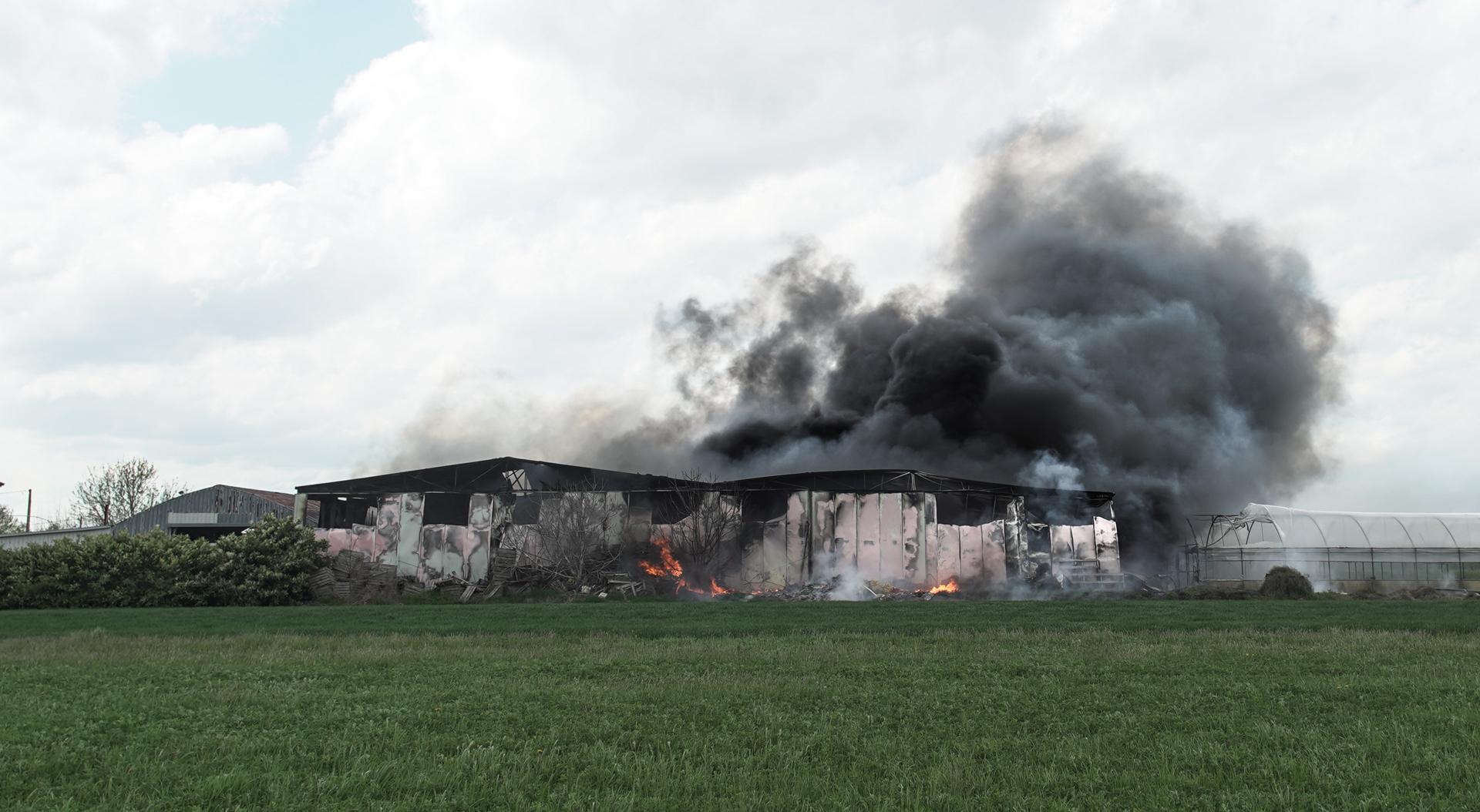 Incendio a Cannucceto. IL VIDEO