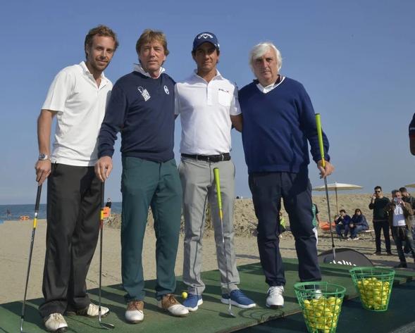 A Cervia il grande golf tra prato e spiaggia