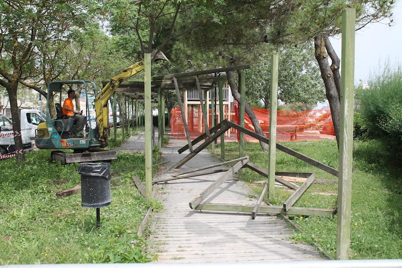 Giardini al Mare: al via i lavori di restyling