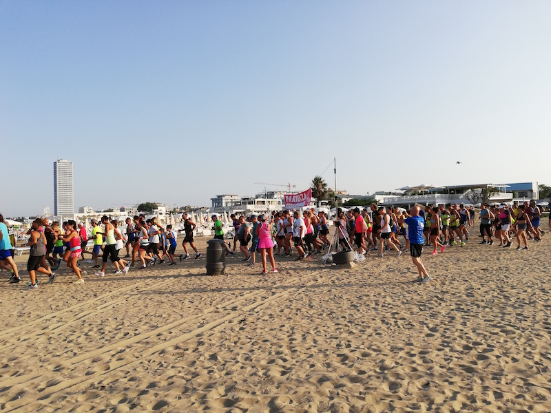 Pink Sunset Run: un grande successo
