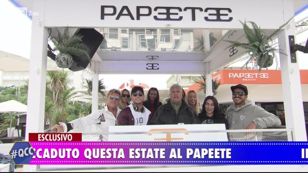 Fine dell'estate in diretta tv per il Papeete