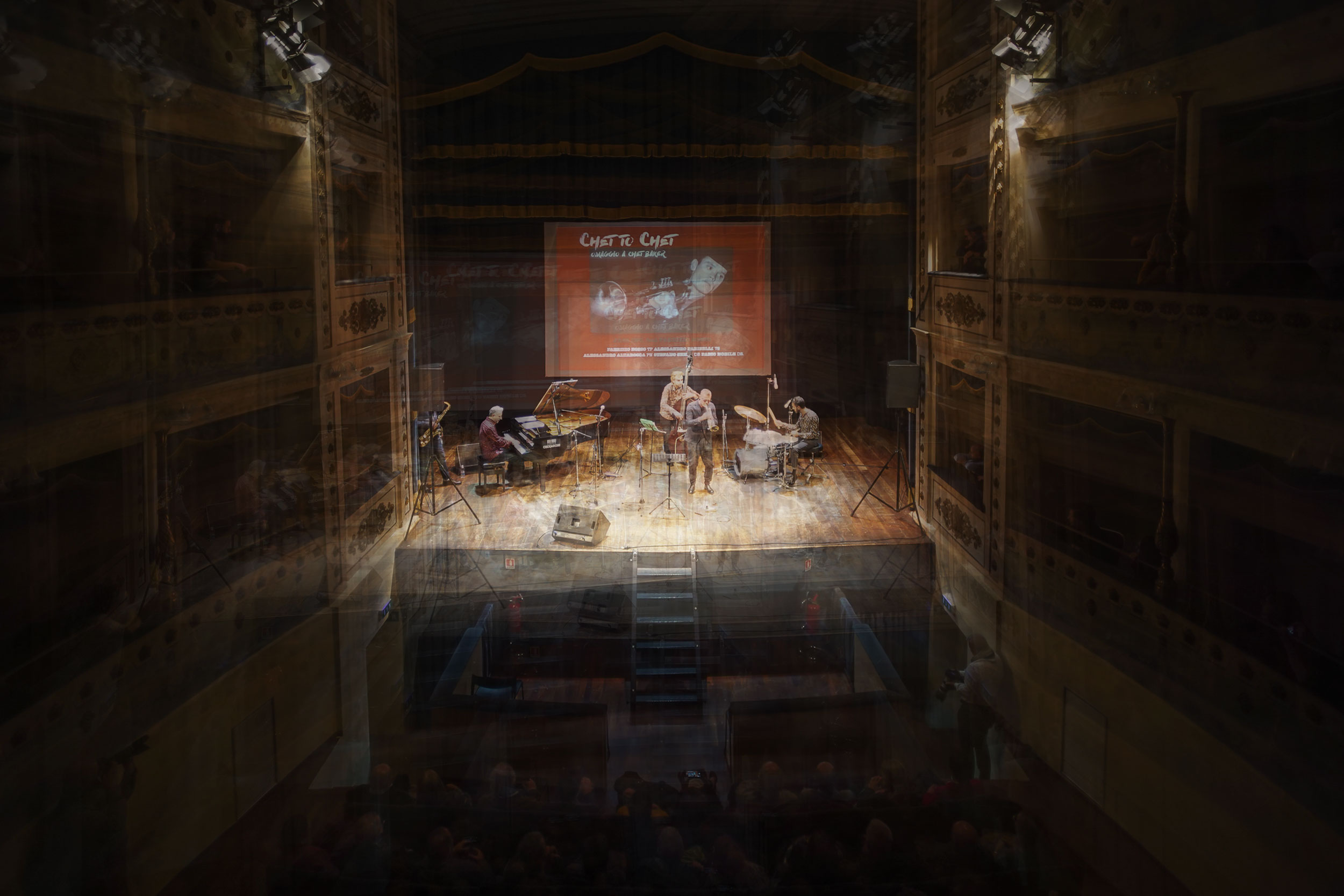 A night at the theatre – Chet to Chet FOTO