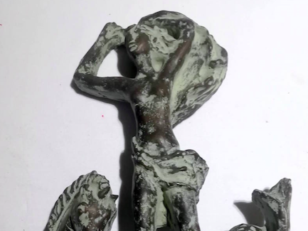 Donata alla città la scultura Naiade