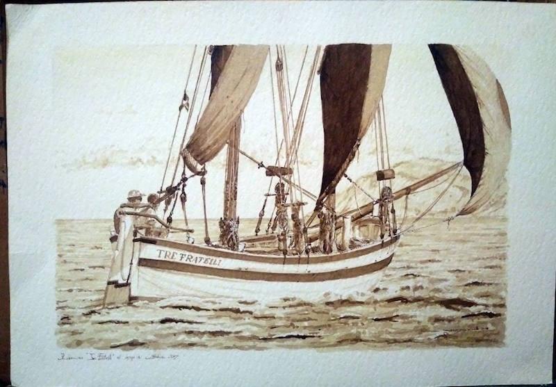Le vele, il mare. La mostra di Maurizio Rinaldi