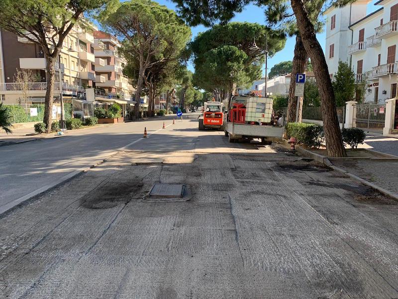 Piano asfalti: continuano gli interventi di riqualificazione
