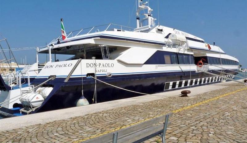 Riparte il traghetto per la Croazia