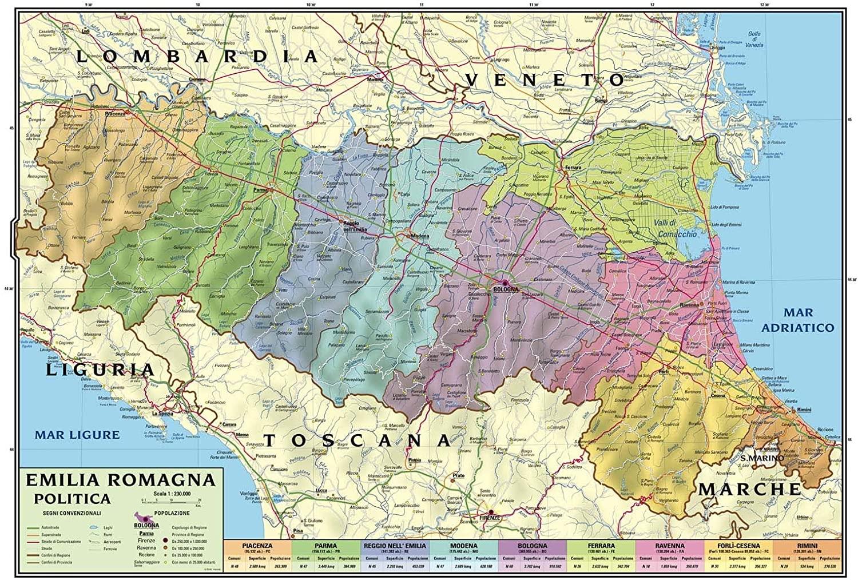 Confini chiusi in Emilia Romagna fino all'8 giugno? Turismo in ansia