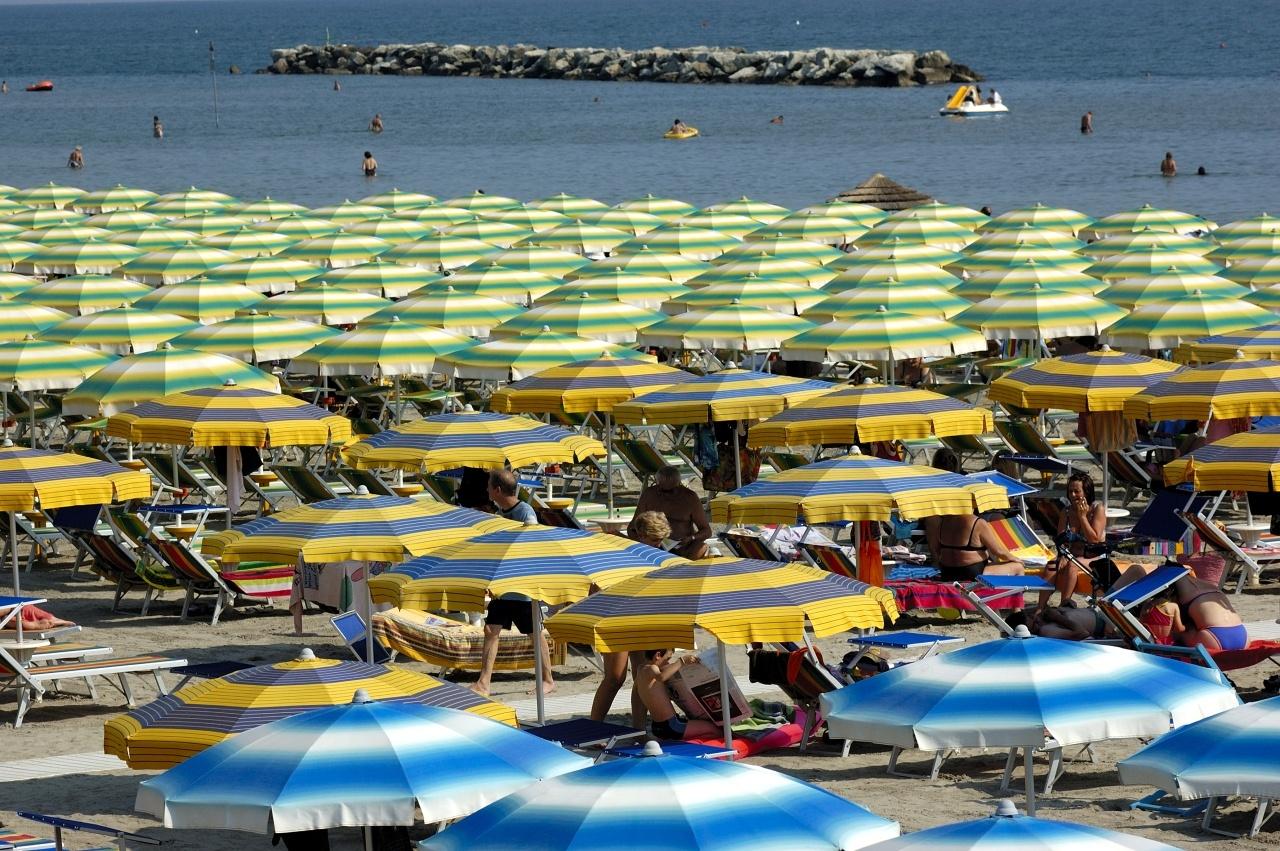 Oscar agli stabilimenti balneari, la Romagna resta all'asciutto