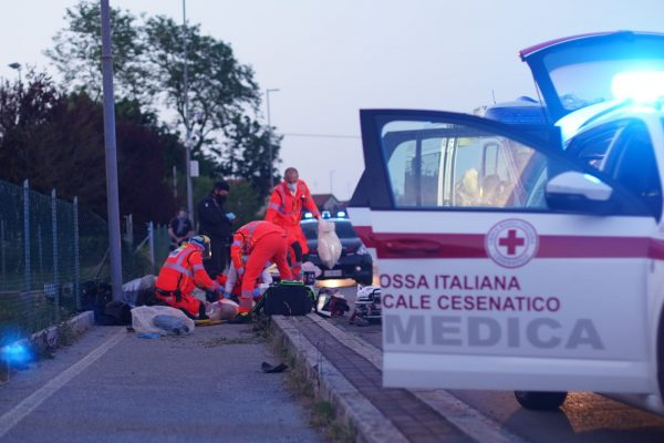 incidente via cesenatico