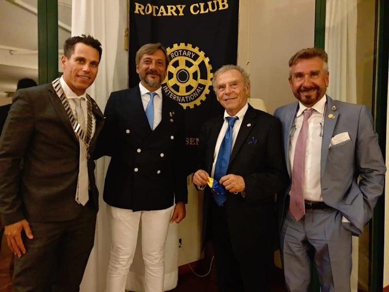 Cambio al timone del Rotary Club Cervia-Cesenatico