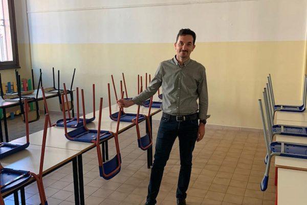 Matteo Gozzoli alla mensa della Scuola Saffi