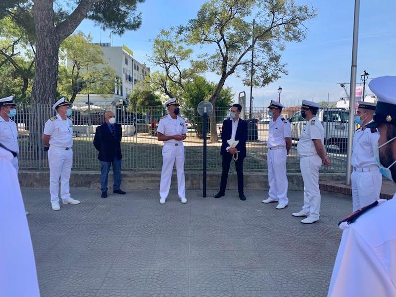 Il sindaco ha incontrato l'Ammiraglio Ispettore Capo Giovanni Pettorino