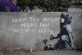 """Ferrara, aspettando Cimabue """"sold out"""" per Banksy"""