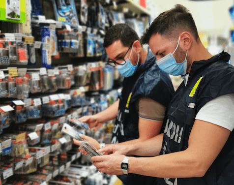 Guardia di Finanza: sequestrati 100.000 prodotti non sicuri