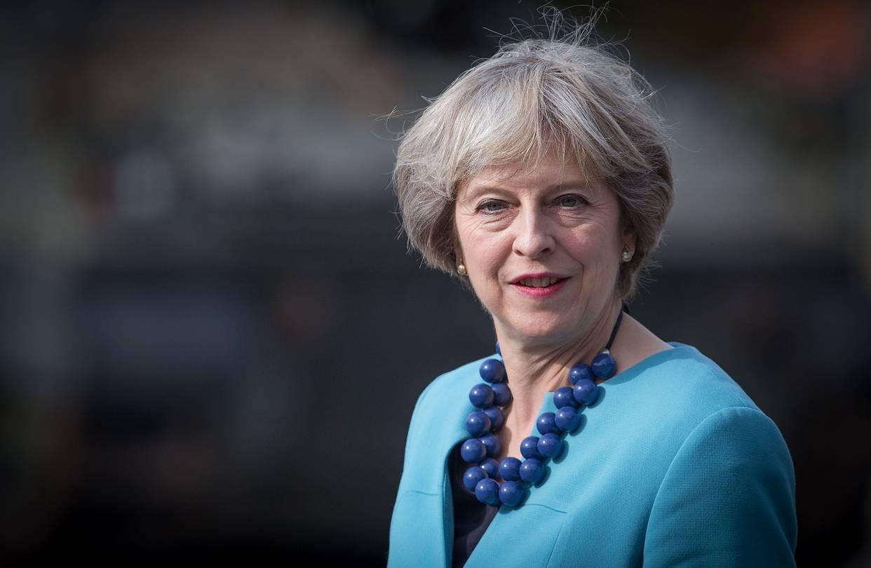 L'ex primo ministro del Regno Unito Theresa May in visita ufficiale a San Marino