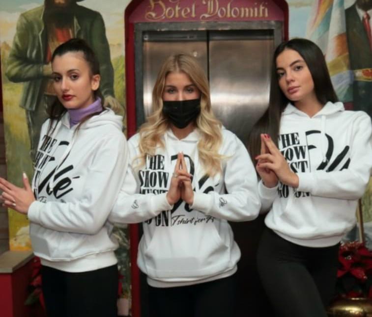 Anche 4 modelle cesenati all'evento solidale di Canazei