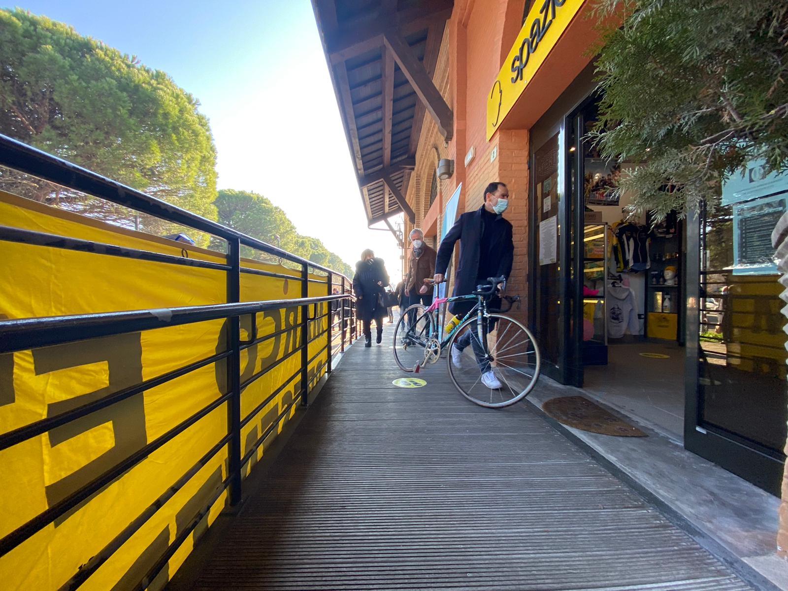 Le immagini della bici che ha fatto la storia