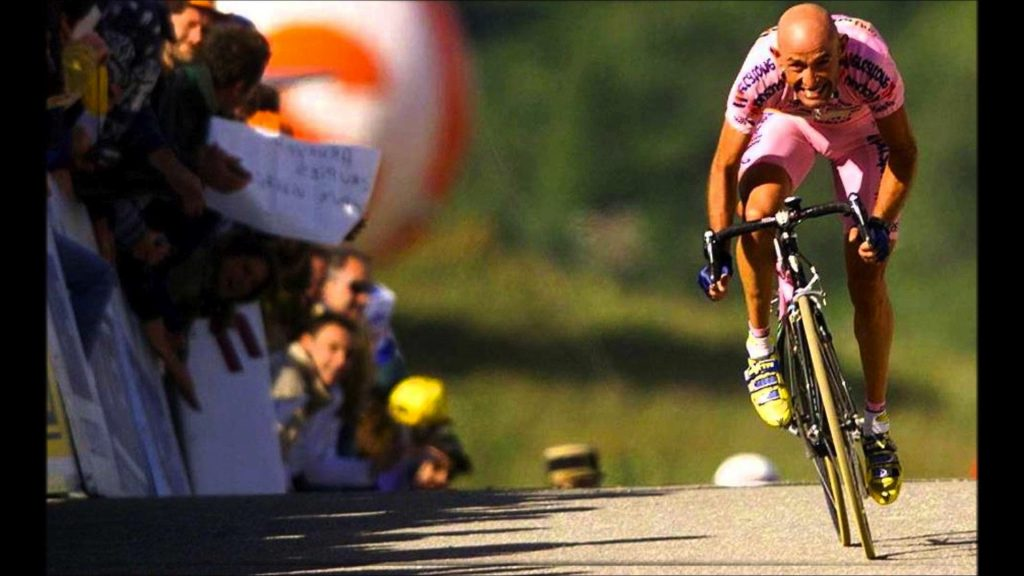 bicicletta di Pantani