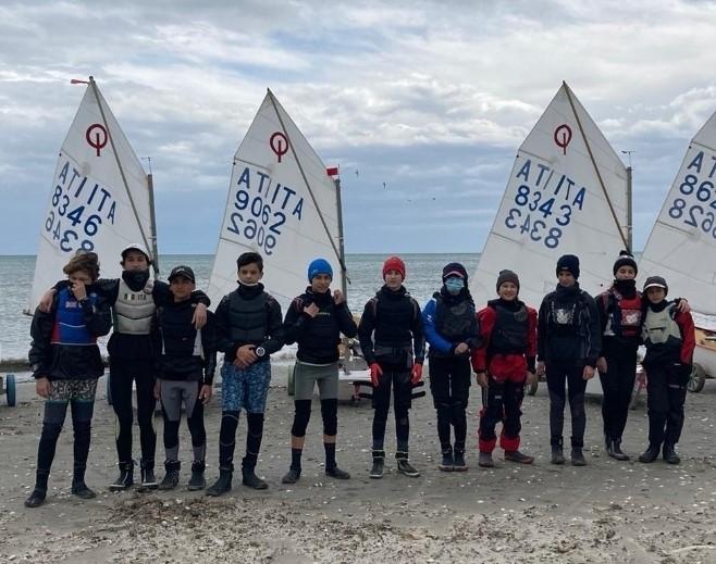 Optimist e gli ambasciatori della vela di Romagna
