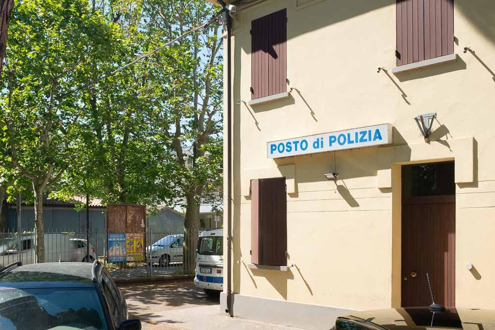 posto polizia estivo