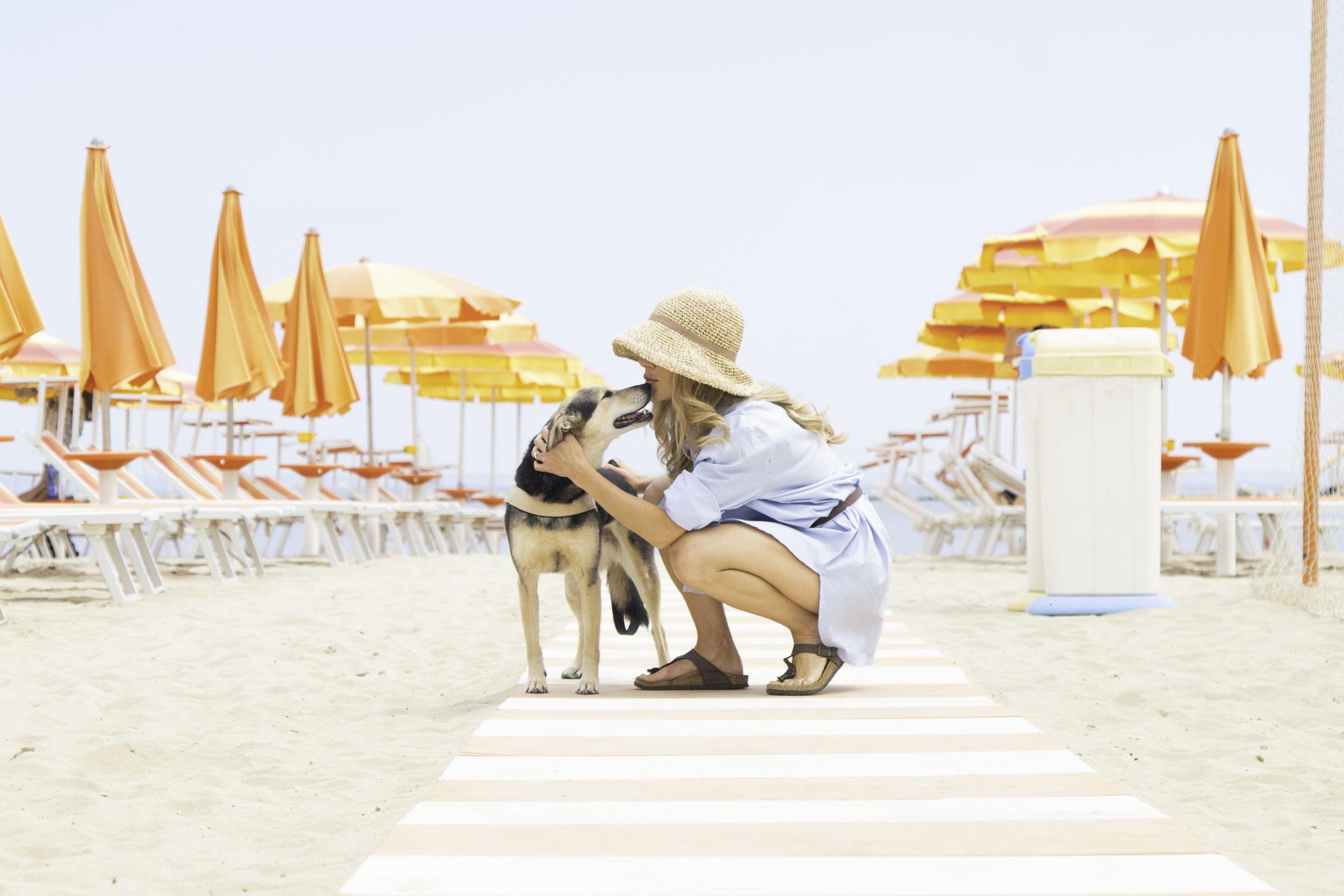 Vivere la spiaggia con i nostri fedeli amici!