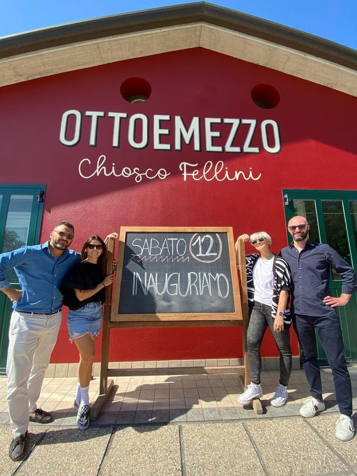 A Gambettola inaugura la nuova gestione del Chiosco Fellini