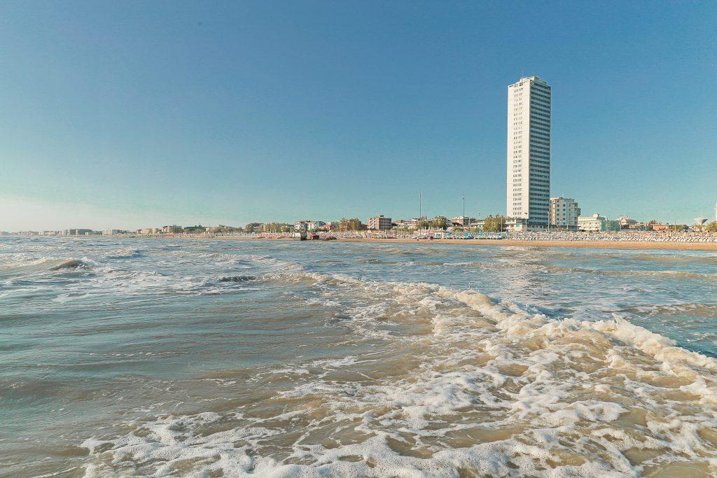 grattacielo Cesenatico, mare, spiaggia