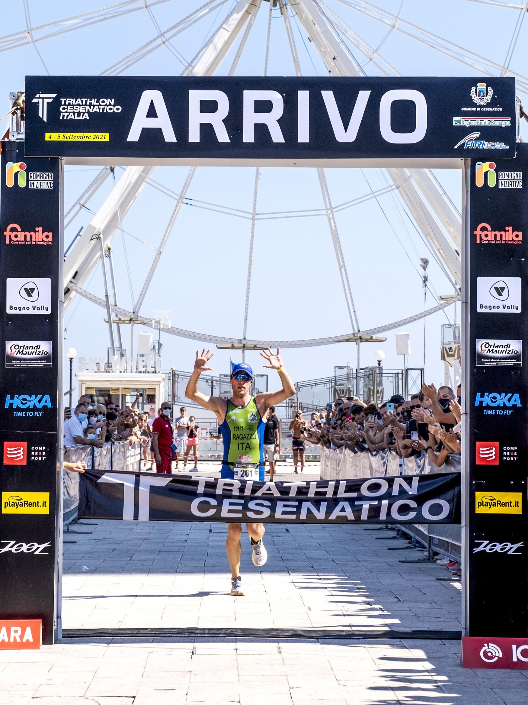 Triathlon a Cesenatico: lo sport nonostante le difficoltà.